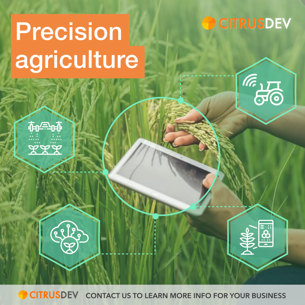 Precision Agriculture solutions - CitrusDev
